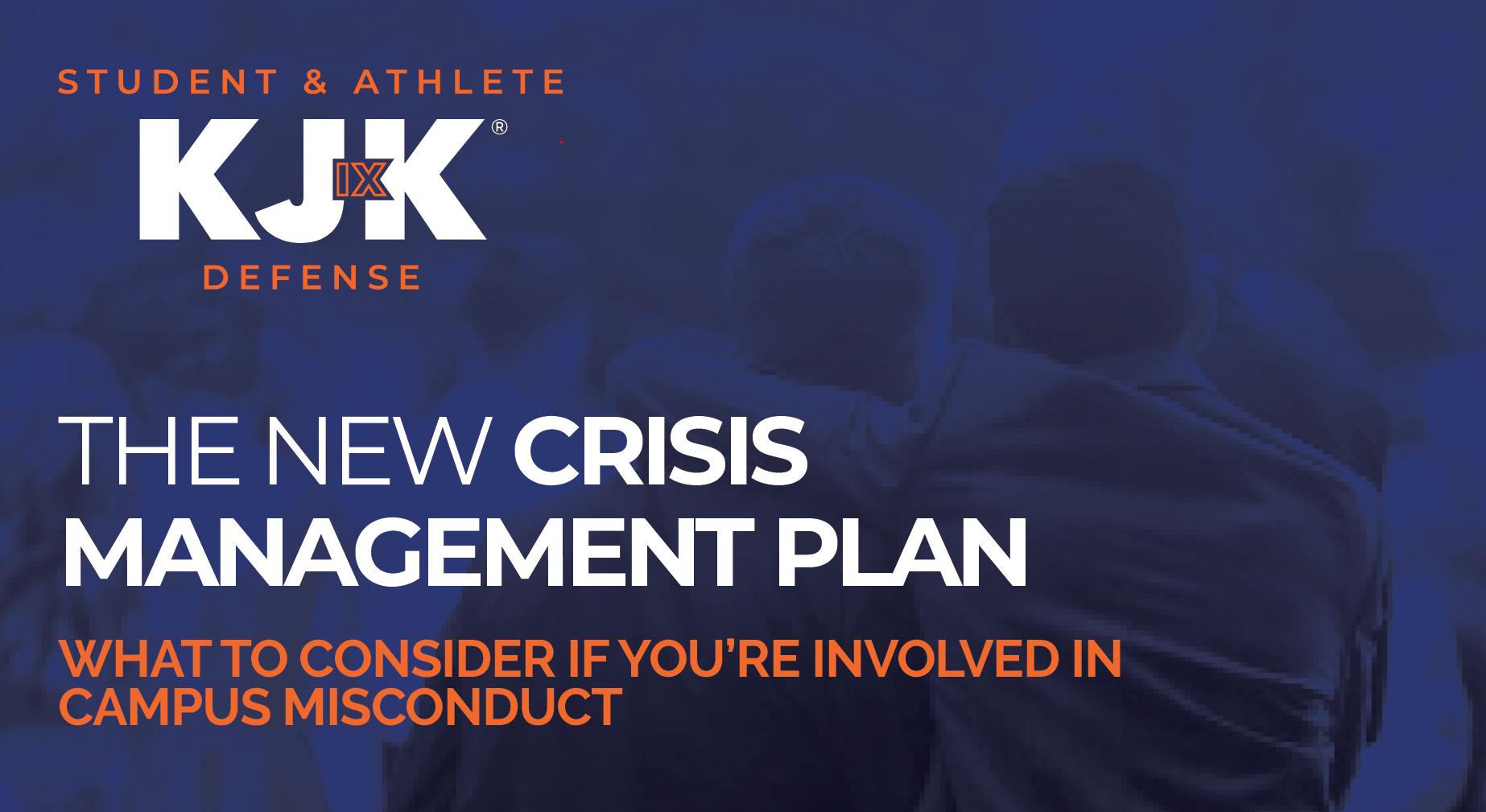 Title IX Crisis Management Plan