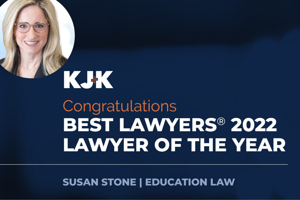Susan Stone lawyer of the year education 2022